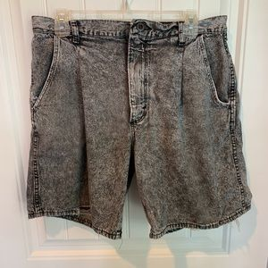 Vintage stone washed wedgie destroyed shorts 14